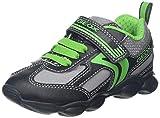 Geox J MUNFREY Boy A, Zapatillas para Niños, Negro (Black/Green C0016), 24 EU