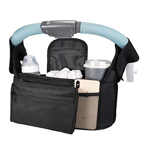 Boaraino Bolso silla paseo bebé,Bolsos Carro Bebé,Bolsa organizadora para...