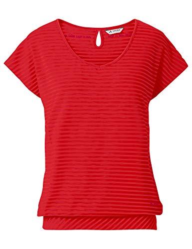 VAUDE Damen T-Shirt Women\'s Skomer T-Shirt II, Mars red, 42, 40385