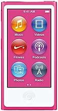 Apple iPod Nano 16GB Pink (8th Generation) MKMV2LL/A (Renewed)