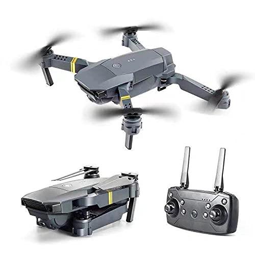RROWER Drone para niños con cámara HD 4K, Mini Quadcopter para Principiantes con altitud Hold, una tecla Start/Land, Tray Path, 3 baterías modulares