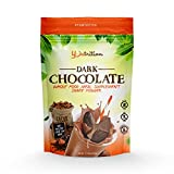 Chocolate Meal Replacement Shakes Protein Powder Healthy Drink Supplement. Grass Fed Whey. Low Carb Nutritional Smoothie Ideal for Weight Loss. Gluten Free. for Women & Men. 15 serv
