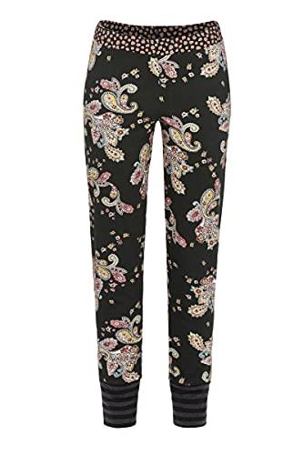 Ringella Bloomy Damen Lange Hose mit Bündchen schwarz 38 1551512,schwarz, 38