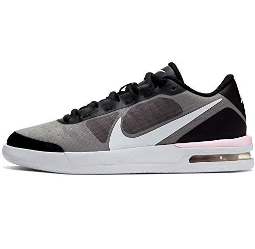 Nike NikeCourt Air Max Vapor Wing MS, Scarpa da Tennis Donna, Bianco/Espuma Rosa/Nero, 37.5 EU