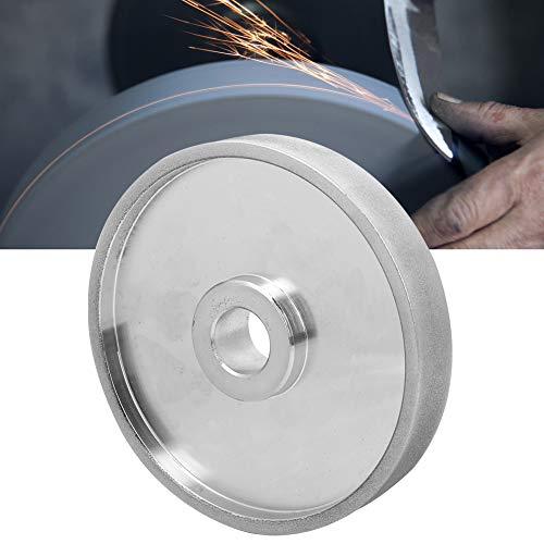 Muela abrasiva de 150 mm, muela de disco abrasivo de diamante CBN,...