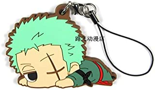 Scallion Anime Figures Sabo,Luffy,Zoro,Law ,Ace,Sanji,Zoro Genuine Figures Phone Strap/Keychain Pendant Toys Baby Boy Must Haves 4 Year Old Girl Gifts The Favourite Superhero Toys UNbox Box