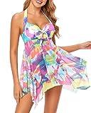 Holipick Swim Dress Tankini Swimsuits for Women...