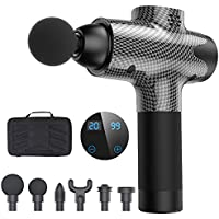 Lesparty 20-Speed Handheld Deep Tissue Percussion Muscle Massage Gun