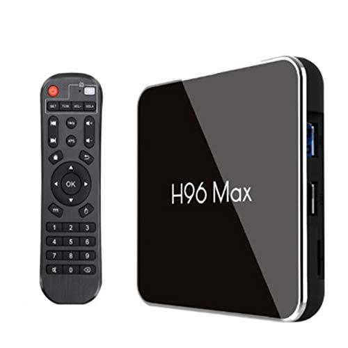 HSART Decodificador de TV Android 8.1, Amlogic S905X2 de Cuatro Núcleos Arm Cortex A53 @ 2Ghz Motor de Video Amlogic con Decodificador Y Codificador de Hardware Dedicado,4+32g
