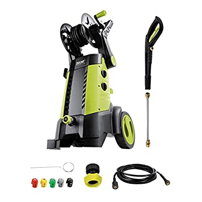 SPX3001 2030 PSI 1.76 GPM 14.5 AMP Electric Pressure Washer with Hose Reel, Green - New
