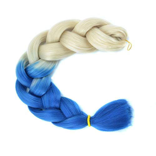 XIAOWEIBA Couleur Jumbo Braid Hair Extensions Cheveux Tressage Kanekalon Fibre Cheveux pour Tressage Twist Ombre Tressage Cheveux,2,3PCS