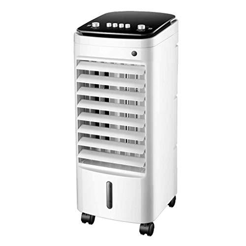 Climatizzatore Portatile Ventola del condizionatore d'aria del pavimento, ventilatore silenzioso Electric Air-raffreddato ad acqua Umidificatore raffreddato ad acqua piccolo condizionatore d'aria per