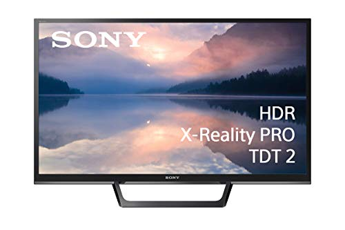 """Sony KDL-32RE403 - Televisor HDR 32"""", X-Reality Pro, MotionFlow XR, ClearAudio+, TDT2, Negro"""