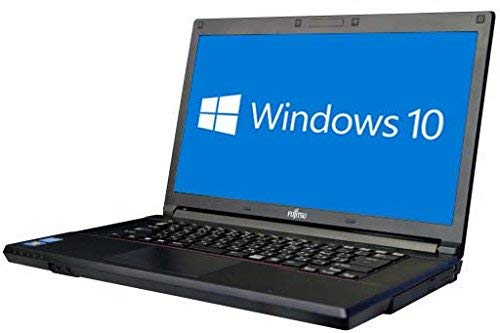 【Amazon.co.jp 限定】富士通 ノートPC/MS Office 2019/第三世代Core i5/Win10/メモリ:8GB/DVD/Wi-Fi/15.6型液晶/Zeroセキュリティーソフト(整備済み品) (新品SSD 256GB)