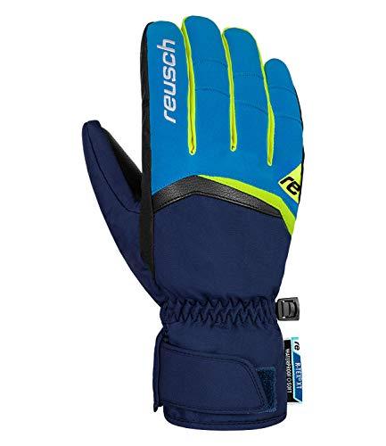 Reusch Herren Balin R-TEX XT Handschuhe, Imperial Blue/neon Yellow, 10.5
