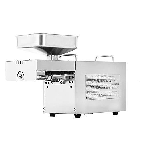 SISHUINIANHUA Heiße und kalte Mandelöl Extraction Expeller-Presse-Maschine Home Use Edelstahl...