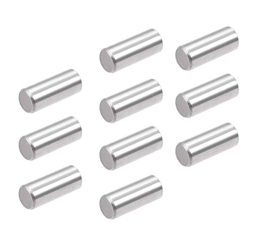 10 Pcs M8x30mm Dowel Pin 304 Stainless Steel Shelf Support Pin Fasten Elements,304 Stainless Steel Cylindrical Pin Locating Dowel Support