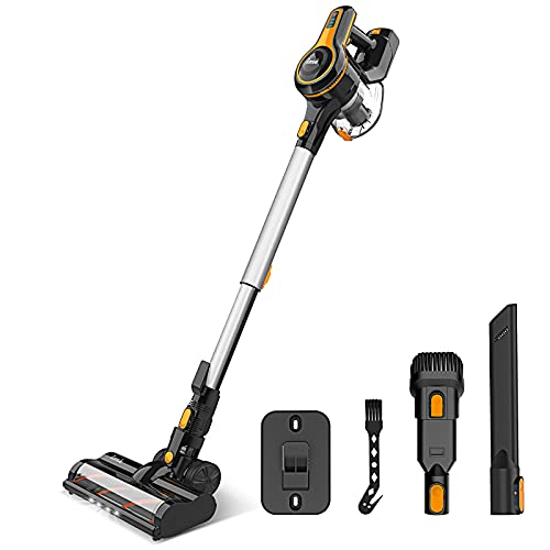 Cordless Vacuum Cleaner, 23Kpa Strong Suction Stick Vacuum with 45min Max...