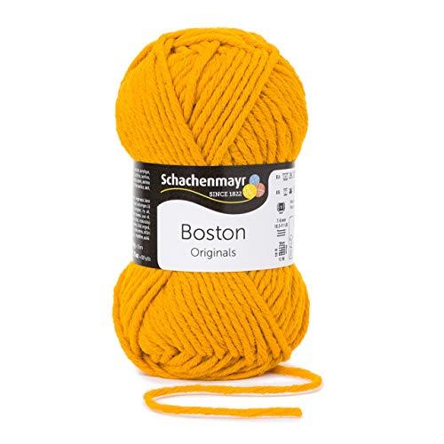Schachenmayr Boston 9807412-00021 gelb Handstrickgarn