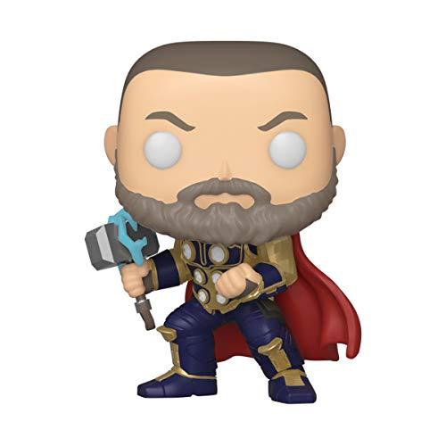 Funko POP! Marvel: Avengers Game- Thor (Stark Tech Suit), Multicolore
