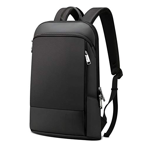 Ultra-Thin Laptop Backpacks,Business Laptop Backpack,fits 15.6 Inch Business Travel Laptop Rucksack Bag with, Water Resistant College School Computer Rucksack Work Backpack for Mens Womens,Black