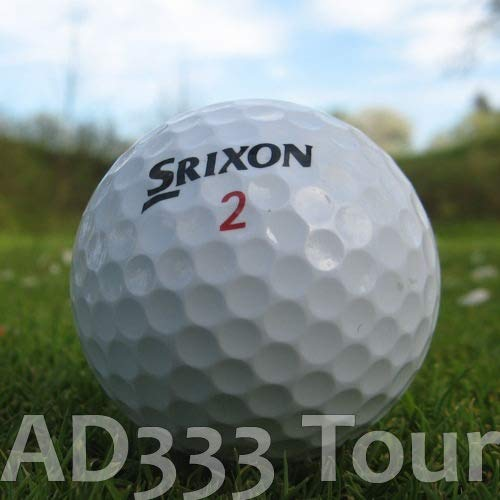 Easy Lakeballs 50 SRIXON AD333 Tour BALLES DE Golf...