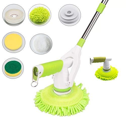 Langer Griff Multifunktions Elektrische Reinigungsbürste Polieren Einwachsen Automatische Drahtlose Lade Mopp Für küche waschbecken fensterrahmen glastür