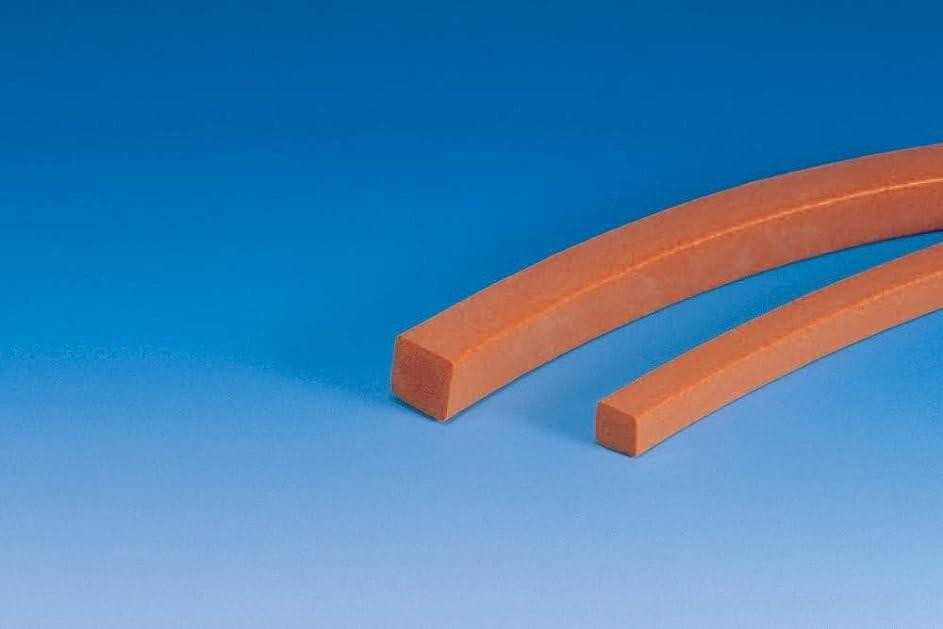 放出欺く立方体シリコンゴムスポンジ角紐 6×10×50m巻 単位:50m/巻