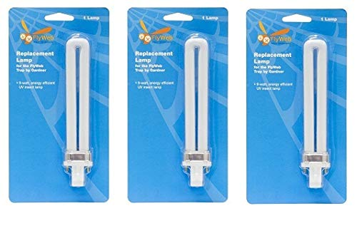 Gardner Manufacturing FlyWeb Fly Light EL22 Replacement Bulb (1) (Pack of 3)