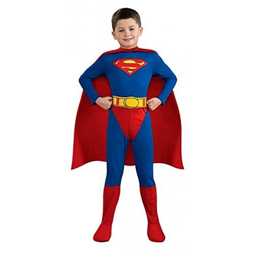 Superman Costume - Child's Fancy Dress - Medium (disfraz)