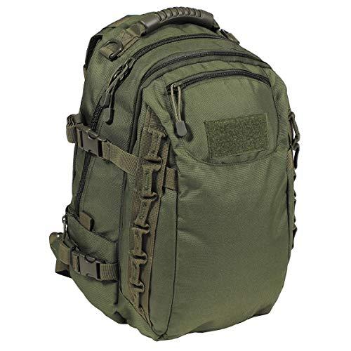 MFH US Army Rucksack Mission 30 40 Liter Geocaching Outdoor Wandern Trekkingrucksack Backpack viele Farben (Oliv)