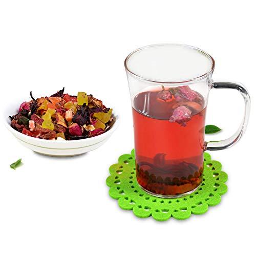 HOMUREN 1Kg /lot Dried Fruit Grain Rose Flavor Chinese Natural Organic Health Herbal Tea