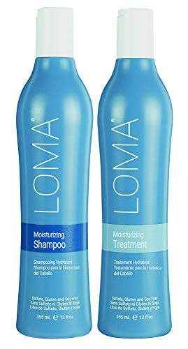 Loma Moisturizing Shampoo and Treatmentment Duo 12 oz