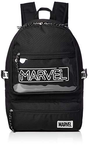 [マーベル] MARVEL マーベル リュックサック バックパック デイパック クリアポケット MV-205b mv- ホワイト(MV-207) One Size