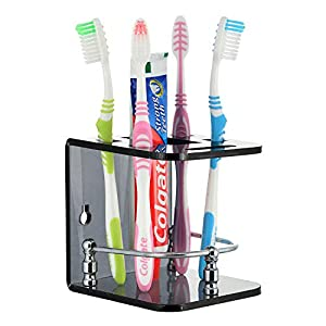 Smart Shop Brandshoppy Acrylic Tooth Paste Brush Holder/Stand/Tumbler for Bathroom Accessories for Home