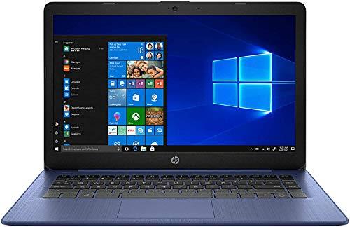HP Stream - 14-ds0003dx Home and Entertainment Laptop (AMD A4-9120e 2-Core, 4GB RAM, 64GB eMMC, AMD Radeon R3, 14.0' HD (1366x768), WiFi, Bluetooth, Webcam, 1xHDMI, SD Card, Win 10 Home) (Renewed)