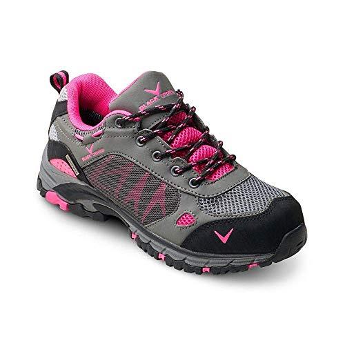 Black Crevice damskie buty trekkingowe, szary różowy - 39 EU