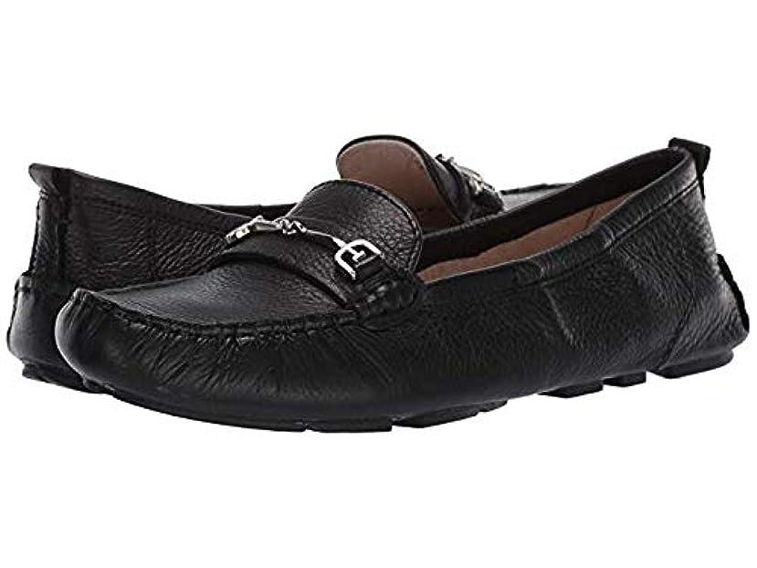 刺す出費やりがいのある[Sam Edelman(サムエデルマン)] レディースローファー?靴 Falto Black Neymar Tumbled Leather (25.5cm) M [並行輸入品]