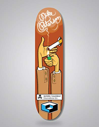 lordofbrands Consolidated Mike Peterson 8,3 Deck monopatin Skate Skateboard