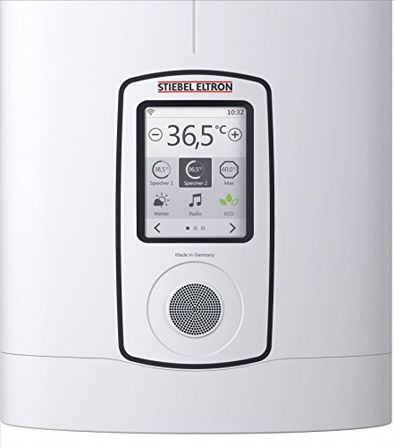 Stiebel Eltron vollelektronisch geregelter Durchlauferhitzer DHE Connect 27 kW, umschaltbar, Internetradio, WLAN, Touch-Display, ECO-Modus, App-Bedienung, Verbrauchsanzeige/-Kosten, 234468 - 3