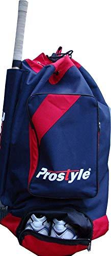 PROSTYLE SPORTS Junior Cricket Premier Duffle bag 2021, Navy/Red, Standard