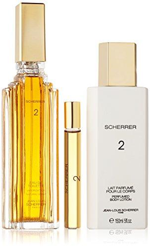 Jean Louis Scherrer 2 Set (Eau De Toilette 100 Ml Spray + 10 Ml Roll On +Body Lotion 150 ml)