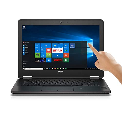 Dell Latitude E7270 12.5 inches Core i5-6300U 8GB 128GB SSD WebCam HDMI WiFi BT Windows 10 Professional Laptop PC (Renewed) (Refurbished)