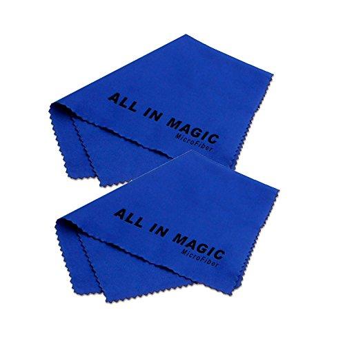 11.8 x 11.8 pouces bleu 30 x 30 cm PhotoSEL Chiffon de nettoyage en microfibre pour Camera Lens Tablet iPhone LCD Lunettes TV Paquet de 5
