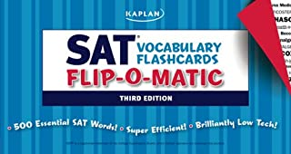 Kaplan SAT Vocabulary Flashcards Flip-O-Matic