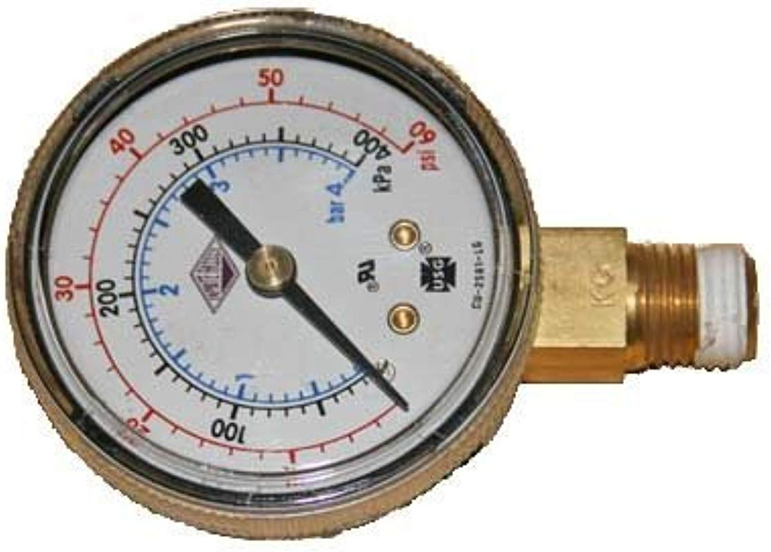 Regulator Gauge 0 60 Taprite Brand Right Hand Thread Sold By Kegconnection