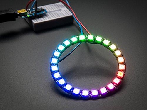 Adafruit - Anello LED Neopixel RGB con driver integrati