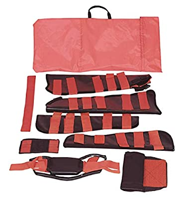 Grafco 6000 Adult Fracture Kit - All-in-One First Aid for Broken Legs and Arms & Immobilizing Shoulders and Necks by GF Health Products, Inc.