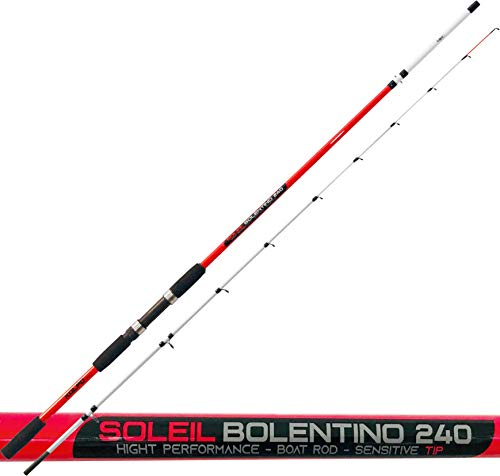 kolpo Soleil Bolentino Canna da Pesca 2 sezioni 200 Grammi 2.10 Metri