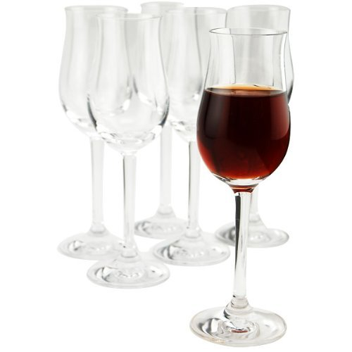 Stolzle – Professional Collection Clear Lead-Free Crystal Port Wine Glass, 3.5 oz. Set of 6